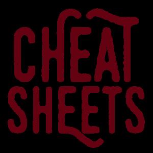 cheat-sheets